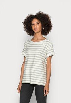 Esprit - COO STRIPE - T-Shirt print - pastel green