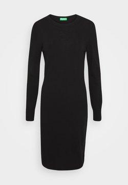 Benetton - DRESS - Sukienka etui - black