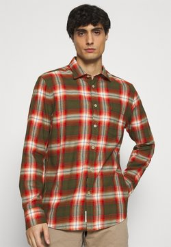 Marc O'Polo - KENT COLLAR LONG SLEEVE CHEST - Hemd - multi/brick