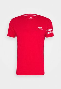 Alpha Industries - UNLIMITED - T-shirts print - speed red