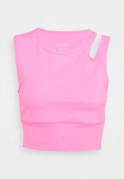 Cotton On Body - ULTIMATE CUT OUT VESTLETTE - Top - rouge pink