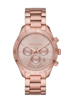 Michael Kors - LAYTON - Rannekello ajanottotoiminnolla - rose gold coloured