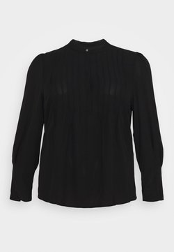 Selected Femme Curve - SLFVIA TOP  - Blouse - black