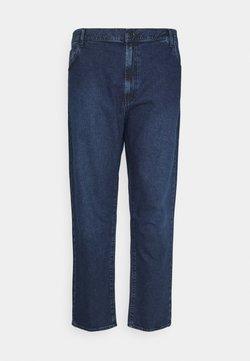 NU-IN - PLUS MID RISE - Jeans fuselé - mid blue wash