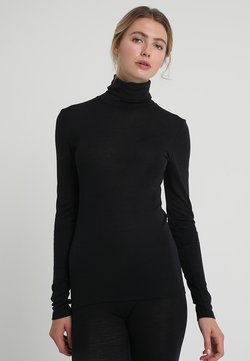 Hanro - WOOLEN-SILK MIX - Undertrøjer - black