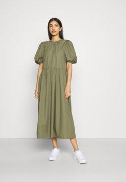 Envii - ENSAFFRON DRESS - Maxikleid - deep lichen green