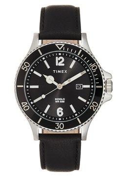 Timex - HARBORSIDE 42 mm BRACELET - Montre - black/silver-coloured