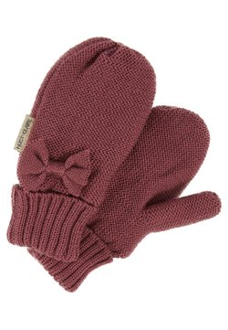 Hust & Claire - FLORI MITTENS BABY - Mittens - plum