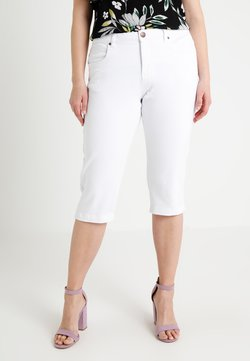 Zizzi - EMILY - Jeansshort - bright white