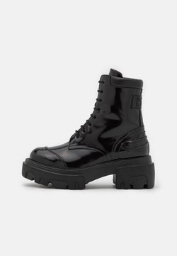 MSGM - STIVALE DONNA BOOT - Platform ankle boots - black
