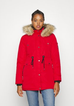 Superdry - NADARE - Wintermantel - burnt red