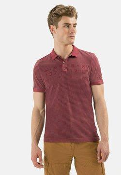 camel active - KURZARM - Poloshirt - berry red