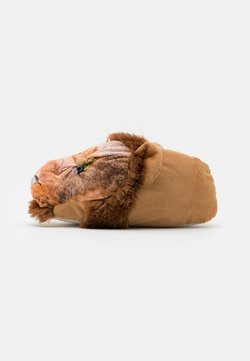 Loungeable - LION SLIPPER - Hausschuh - brown