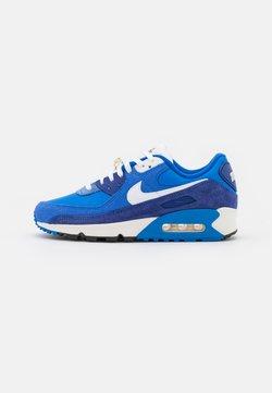 Nike Sportswear - AIR MAX 90 SE - Matalavartiset tennarit - signal blue/white/game royal/deep royal blue/black/sail
