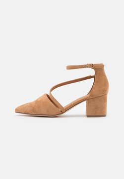 Bianco - BIADIVIVED STRAP  - Classic heels - camel