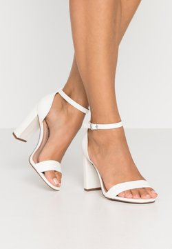 New Look Wide Fit - WIDE FIT VARONA - High Heel Sandalette - white