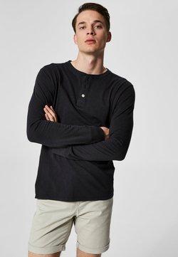 Selected Homme - Pitkähihainen paita - black beauty