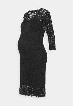 MAMALICIOUS - MLMIVANA 3/4 DRESS - Vestido informal - black