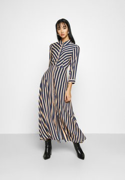 YAS - YASSAVANNA STRIPE LONG DRESS - Maxi-jurk - ensign blue