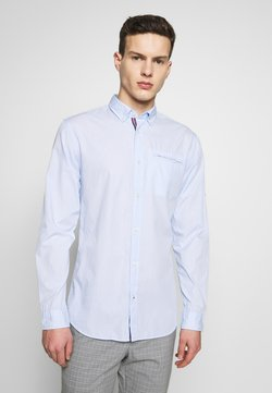 Jack & Jones - JETAPE DETAIL SLIM FIT - Hemd - blue