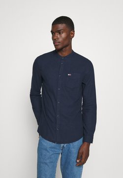 Tommy Jeans - SOLID MAO - Camicia - twilight navy