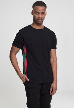 Urban Classics - T-Shirt print - black/red