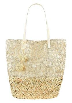 PRIMA MODA - TEGLIO - Shopping Bag - beige