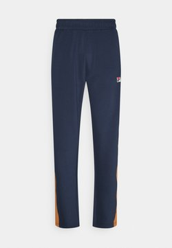 Fila - HAVERD TRACK PANTS - Jogginghose - black iris/hazel
