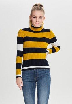 ONLY - ONLKAROL - Jersey de punto - mottled yellow/blue