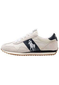 Polo Ralph Lauren - TRAIN - Sneakers laag - egret/white
