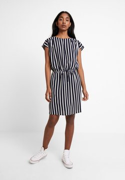 Vero Moda - VMSASHA BALI DRESS - Freizeitkleid - navy blazer/snow white coco