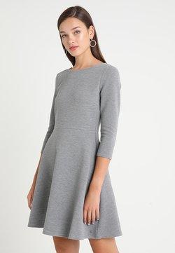 TOM TAILOR DENIM - SKATER DRESS ROUND - Vestido ligero - middle grey melange