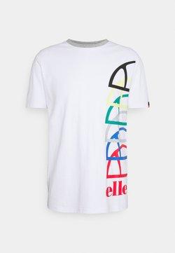 Ellesse - NURALLO TEE - T-shirt con stampa - white