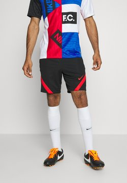 Nike Performance - TÜRKEI DRY SHORT - Pantalón corto de deporte - black/habanero red/habanero red