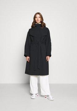 Nike Sportswear - Trenchcoat - black/lapis