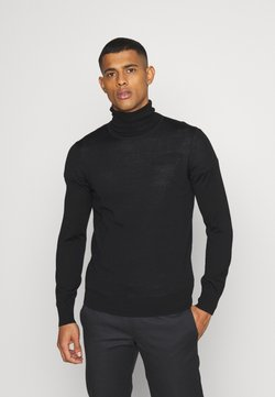ARKET - JUMPER - Strickpullover - black dark