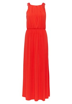 Vila - VITAINI NEW DRESS - Maxi-jurk - flame scarlet