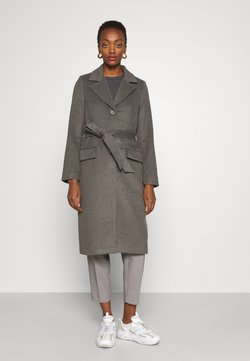Bruuns Bazaar - CATARINA NOVELLE COAT - Klasyczny płaszcz - major brown