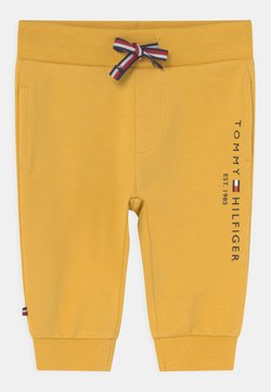 Tommy Hilfiger - BABY ESSENTIAL UNISEX - Pantalones - yellow