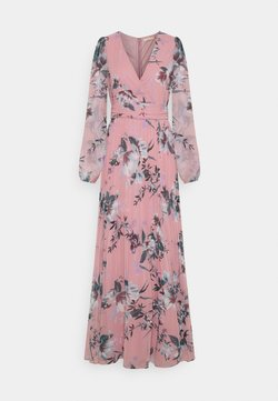 Nly by Nelly - IN LOVE WRAP GOWN - Maxiklänning - multicoloured