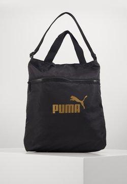 Puma - CORE SEASONAL SHOPPER - Torba na zakupy - black solid
