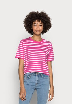 Tommy Hilfiger - REGULAR - T-Shirt print - pink
