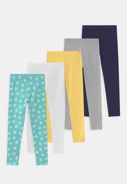 Friboo - 5 PACK - Legging - grey/blue/yellow