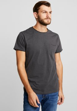 Solid - GAYLIN - T-shirts - dar grey