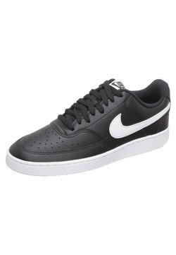 Nike Sportswear - COURT VISION  - Sneaker low - black/white