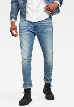 G-Star - D-STAQ 3D SLIM - Jeans Slim Fit - vintage striking blue
