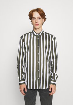 Only & Sons - ONSSANE STRIPED  - Hemd - olive night