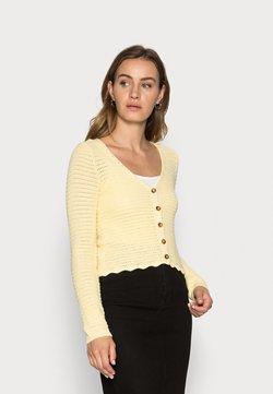 Lindex - CARDIGAN GRACE - Gilet - light yellow