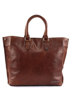 FREDsBRUDER - COLLEGE VT MORGAN - Shopping Bag - cognac