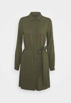 Even&Odd - Vestido camisero - olive